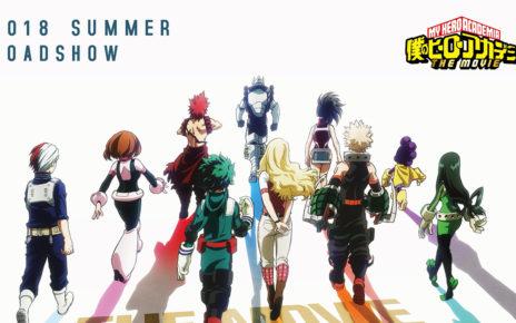 Pubblicato un trailer per il film di My Hero Academia (Boku no Hero Academia)