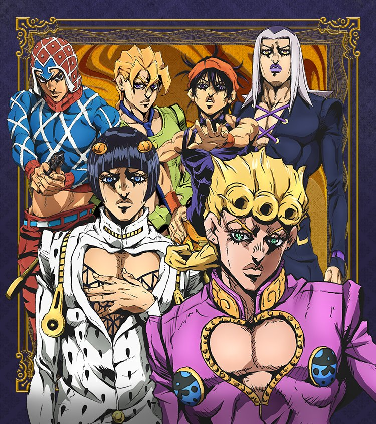 Key Visual 2 - JoJo Part 5 Golden Wind