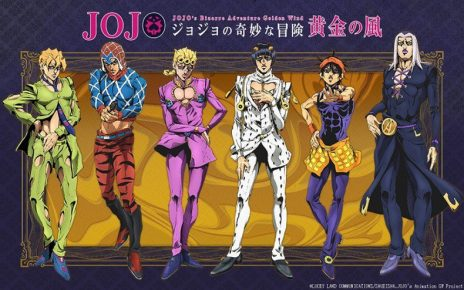 Key Visual 1 – JoJo Part 5 Golden Wind