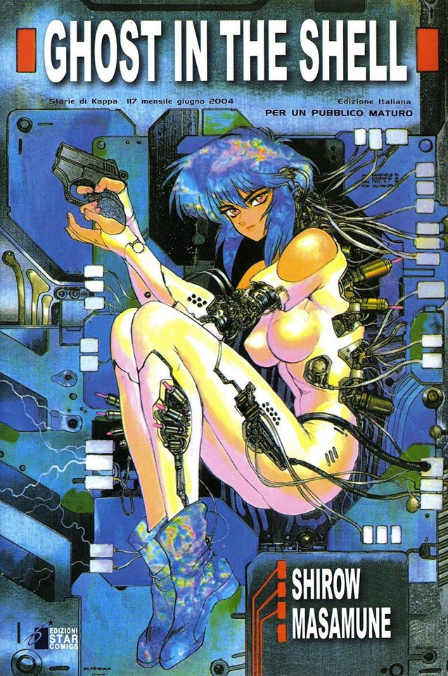 Manga di Ghost in the Shell