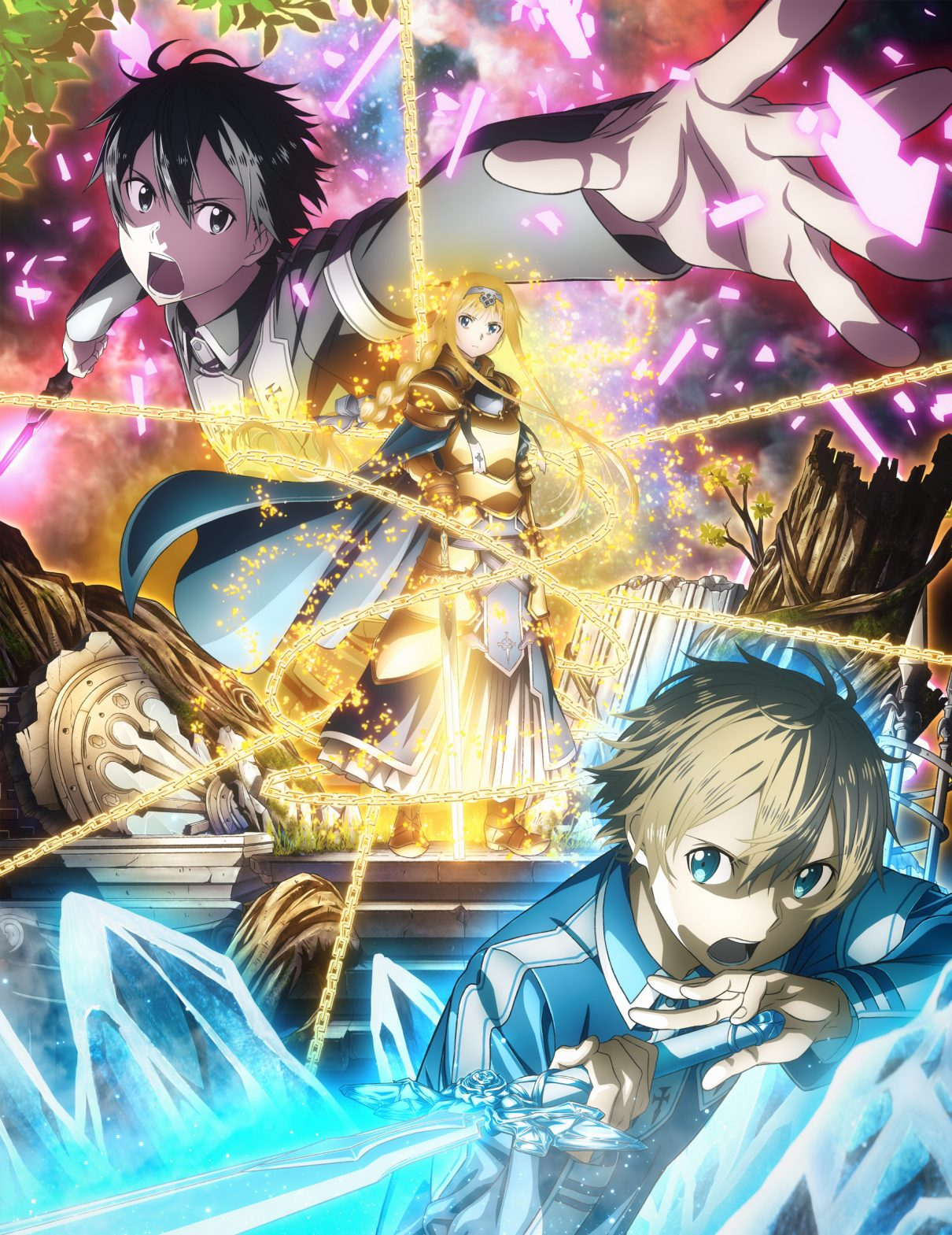 Seconda locandina di Sword Art Online: Alicization