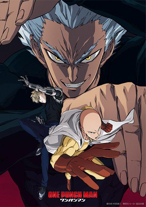 Key Visual di One-Punch Man 2
