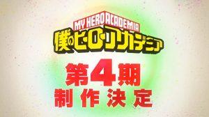 Annunciata la quarta stagione di My Hero Academia