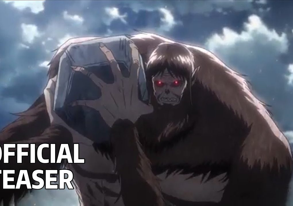Attack on Titan s3 - Part 2 Official Teaser PV Trailer