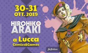 Araki al Luca comics
